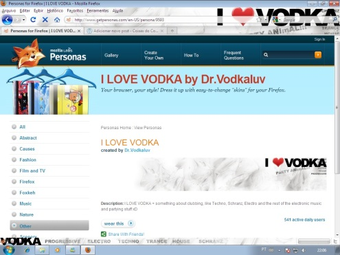 I love Vodka, haha